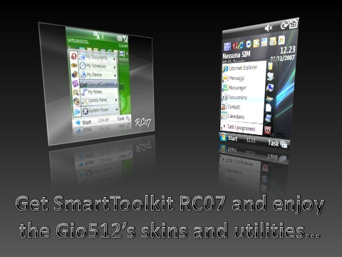 Get SmartToolkit and Gio512's skins andutilities